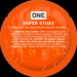 Презерватив з точками One Super Studs
