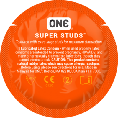 Презерватив с точками One Super Studs