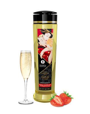 Массажное масло Shunga с ароматом