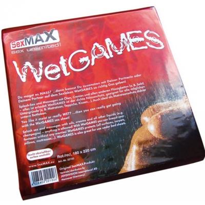 Виниловая простынь Wet Games, 180х220