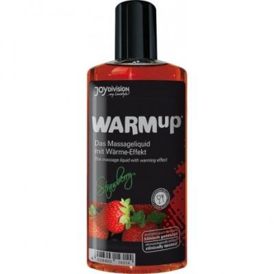 Массажное масло WARMup со вкусом клубники