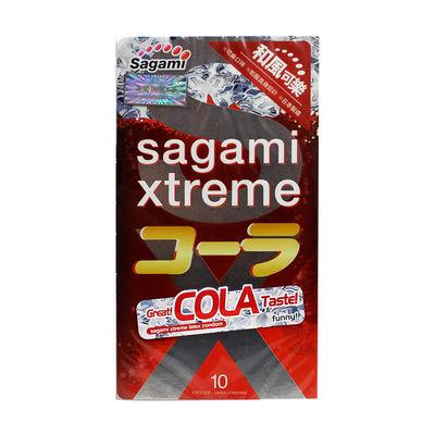 Ультратонкие латексные презервативы Sagami со вкусом колы